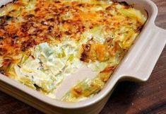 Gratin de poulet et poireaux Weight Watchers, un délicieux plat complet, bon et équilibré facile et simple à faire pour un repas rapide et léger.