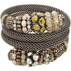 Miriam Haskell Coil Bracelet