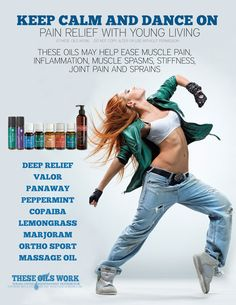 Essential oils for DANCERS!