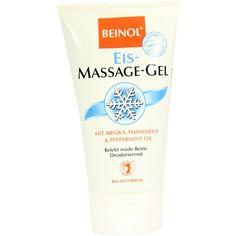 BEINOL Massage Eis Gel:   Packungsinhalt: 150 ml Gel PZN: 04572874 Hersteller: BIO-DIAET-BERLIN GmbH Preis: 3,64 EUR inkl. 19 % MwSt.…