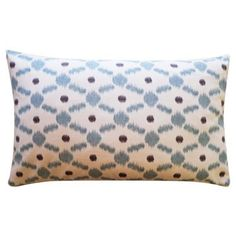Check out this item at One Kings Lane! Destiny 12x20 Cotton Pillow, Blue