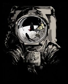 """""""Space is the place for the future of the human race"""" (by Pat Kinsella)"""