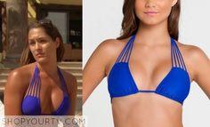Nikki-Bella-Lulifama-blue-bikini-topVerano de Rumba from Luli Fama. total divas Nikki Bella, Wwe Total Divas, Fashion Beauty, Womens Fashion, Blue Bikini, Swimsuits, Swimwear, Electric Blue, Season 2