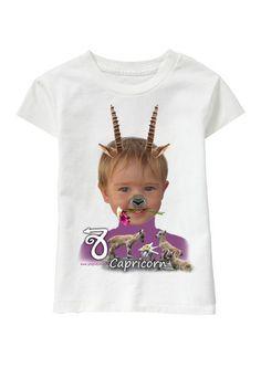 Capricorn Girl personalized T-shirt www.ghigostyle.com