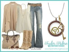 Love the outfit, love the accessories, LOVE the chocolate and gold together!! Origami Owl is the perfect accessory for EVERY outfit!  Get yours at www.taylorkahre.origamiowl.com designer 18314 facebook.com/OrigamiOwlbyTaylorKahre