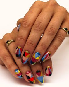 Not a big fan of the pointy nail but Im LOVIN these.....