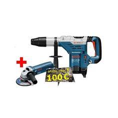 Bosch pro. Perforateur SDS-max GBH 5-40 DCE Prix 746,45 € + 1 x meuleuse Bosch pro. 125 mm 850 W (GWS 850 C) Offre valable du 01/01/2015 au 28/08/2015 100 euros remboursés par BOSCH après achat Offre valable du 01/04/2015 au 31/05/2015