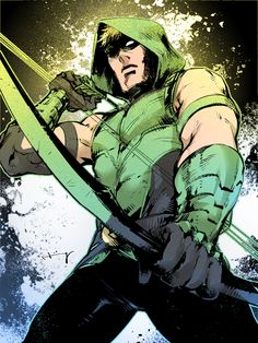 Green Arrow by Haining-art.deviantart.com on @DeviantArt