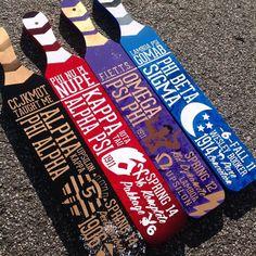 NPHC fraternity paddles