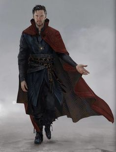 "Concept art of Doctor Strange / Stephen Strange from Marvel's ""Doctor Strange"" (2016)."