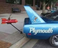 Just A Car Guy: Coyote vs Road Runner Superbird
