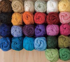 This yarn is so soft and affordable ~ Shine Sport Yarn Knitting Yarn from KnitPicks.com - Cotton & Modal® sport weight knitting yarn