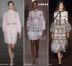 Spring/ Summer 2016 Fashion Trends: Prairie Dresses  #trends #fashiontrends