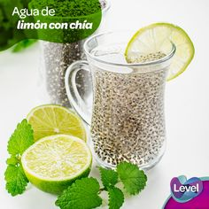 Chia seeds are most popular healthy food on planet. Chia seeds are loaded with super nutrients and minerals that can helps to improve your brain and body. Smoothie Drinks, Detox Drinks, Smoothies, Homemade Energy Drink, Detoxification Diet, Light Diet, Weight Loss Detox, Lemon Water, Chia Seeds