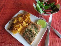 La cuisine de Messidor: Filets de truite poêlés + Frites en spirales +