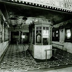 Original Ticket Booth c. 1930.    #olympia #gusman