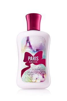 Paris Amour Body Lotion ♥ This makes an awesome gift when you add the matching shower gel & perfume!