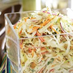 Apple Slaw- omg my mom makes this & it's soooo good! Goes great w crawfish. I can bring if y'all want?