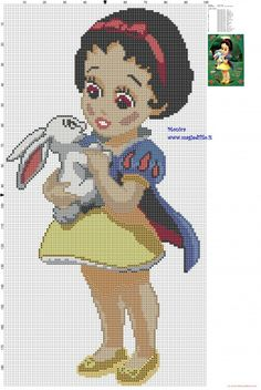http://my-cross-stitch-patterns.com/the_little_snow_white_cross_stitch_pattern.html