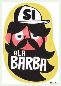 La barba es estilo, ¡cómo no!