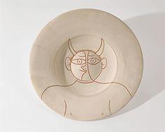 Pablo Picasso. Busto de fauno, 12 abril 1957. Foto: Marc Domage © Museo Picasso Málaga