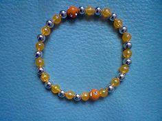 Gummiarmband Farbe: Orange Handmade ungebrauchter Artikel #auction #auktionsseiten #auktion #schmuck #handmade #jewellery #bracelets @roteerdbeerecom