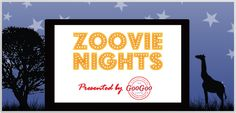From 6pm to sunset, kids can jump on inflatables, play games, get their faces painted, and ride the Wild Animal Carousel. Then at sunset, the movie starts on large inflatable screen at the Nashville Zoo. June 28 and September 13. #HotNashville