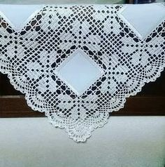 Filet Crochet, Crochet Motifs, Crochet Fabric, Crochet Borders, Crochet Tablecloth, Crochet Squares, Thread Crochet, Crochet Doilies, Crochet Flowers