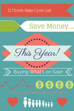 Save Money Buying Grocery and Retail Store Sales Cycles with Free 4 Page Printable!