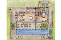 A cinco minutos de José Ignacio, el arquitecto Martín Gómez diseñó una casa de vacaciones donde la libertad es el invitado de lujo