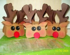 Reindeer Treat Toppers TOOOOO CUTE!!!!