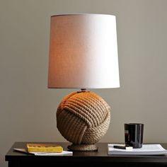 round rope lamp, $129