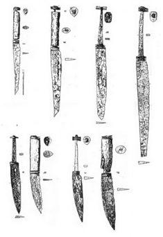 Messer aus dem Hochmittelalter