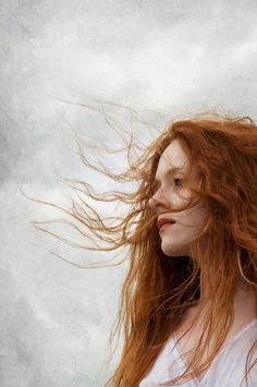"""Three Rivers Deep (book series) """"A two-souled girl begins a journey of self… Beautiful Redhead, Beautiful People, Rides Front, Ginger Girls, Ginger Hair, Model Photographers, Freckles, Redheads, Hair Inspiration"""