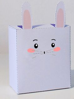 Le lapin en papier