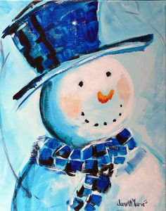 wine and canvas painting ideas Easy Canvas Painting, Winter Painting, Diy Painting, Canvas Paintings, Canvas Art, Christmas Paintings, Christmas Art, Christmas Canvas, Wine And Canvas