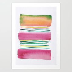 Abstract Watercolour Art Print By Valourine ---------- Watercolor Art Paintings, Modern Art Paintings, Modern Art Prints, Watercolor Print, Watercolor Artists, Watercolors, Pastel Watercolor, Painting Art, Art Prints Quotes