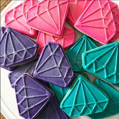 shimmer and shine cookies  gem sugar cookies