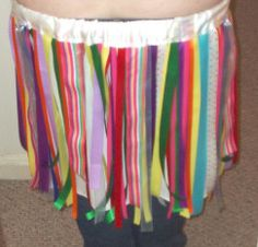 Ribbon Skirt NOW WITH TUTORIAL!!! (img heavy) - CLOTHING