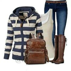 A nice outfit for school