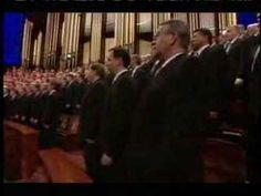 "Best. Song. Ever! Mormon Tabernacle Choir sing ""Come Thou Fount Of Every Blessing."" Arrangement by Mack Wilberg?"