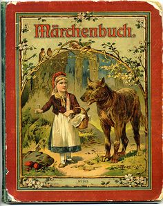 Märchenbuch - German language book of children's fairy tales 1919 and a discussion on teaching children German from infancy.