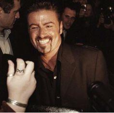He looks genuinely happy. Love it.