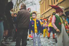 Kids - Carnestoltes - Portrait - Nens - Disguise - Sad Clown http://instantsordinaris.tumblr.com