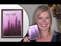 How to make Silver Glitter Splatters and Brayer Tips featuring Stampin Up