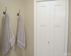 Framed Fabric Towel Hook Update