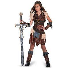 Kids Barbarian Beauty Tween Costume Halloween Fancy Dress #DisguiseCostumes