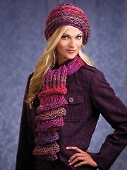 Hats & Gloves Knit Patterns - Shiro Hat & Scarf Kit