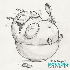 Ice cream overload! #morningscribbles