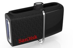 SanDisk Ultra 64GB USB 3.0 OTG Flash Drive With micro USB connector For Android Mobile Devices (SDDD2-064G-G46)